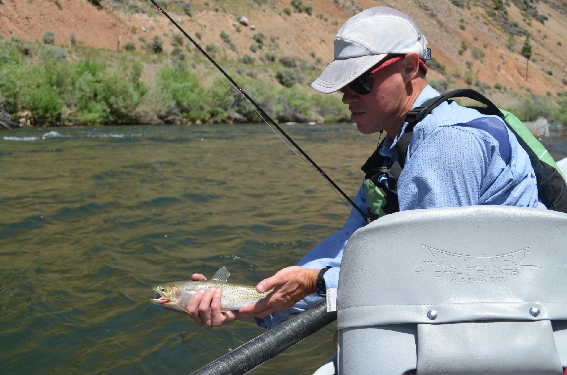 Ken with a summer cutthroat